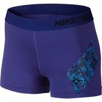 Nike Women's 3'' Pro Logo Shorts | DICK'S Sporting Goods