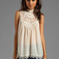 BLAQUE LABEL Barque Blouse in Cream from REVOLVEclothing.com