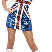 Fever All That Glitters Rule Britannia Adult Costume