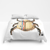 Herbie the Love Bug Comforters by andrea_longhi