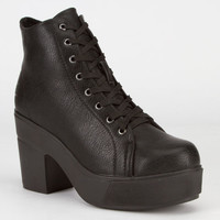 Dirty Laundry Campus Queen Womens Boots Black  In Sizes