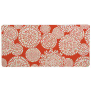 Heather Dutton Delightful Doilies Saffron Desk