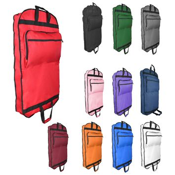 "DALIX 39"" Garment Bag Cover for Suits and Dresses Clothing Foldable w Pockets"