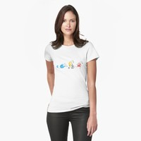 'Polar Bear Triathletes' T-Shirt by DoucetteDesigns