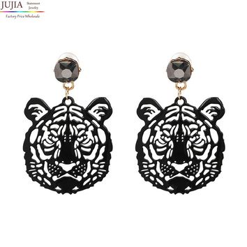 Lion Head Earring
