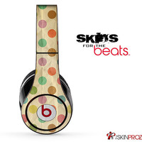 Vintage Polka Dotted Skin For The Beats by Dre Studio, Solo, Pro, Mix-R or Wireless