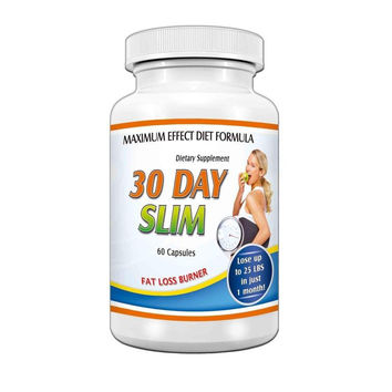 30 Day Slim Fat Burner weight loss pills natural metabolism Diet Formula