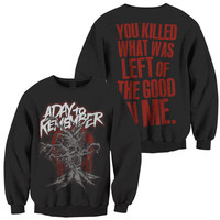 A Day To Remember: Evil Tree Crew Neck Sweatshirt (Black)