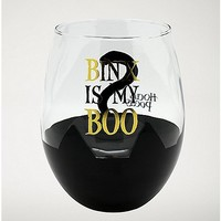 Binx is My Boo Stemless Glass 22 oz. - Hocus Pocus - Spencer's