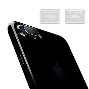 iPhone 7 Plus Camera Lens Protector,HYAIZLZ(TM)2pcs 9H Hardness Tempered Glass Camera Lens Protector Film for iPhone 7 Plus