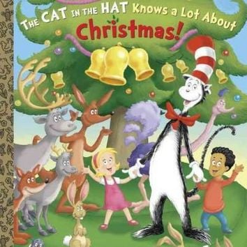 The Cat in the Hat Knows a Lot About Christmas! (Big Golden Books)