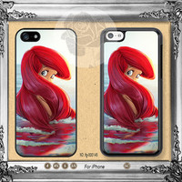 Disney iPhone 5s case, iPhone 5C Case iPhone 5 case, iPhone 4 Case little mermaid ariel iPhone case Phone case ifg-000145