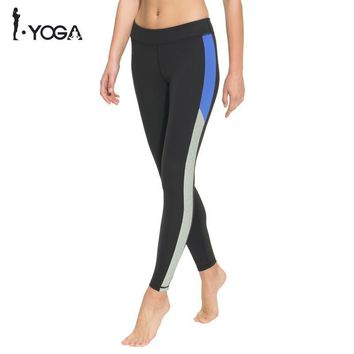 Fitness Women Yoga Legging Activewear Pants High Waist Mesh Tights Sports Athletic Gym Running Workout Bottom Sportswear K025