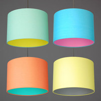 Pastel Pick And Mix Lampshades Choice Of Colours