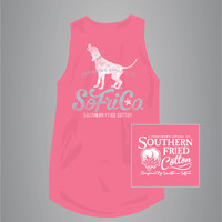 Beach Callin' - Adult Tank Top - Southern Fried Cotton