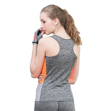 Quick Dry Elasticated Sports Vest
