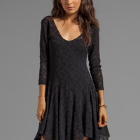 Free People Katya Lace Dress in Black from REVOLVEclothing.com