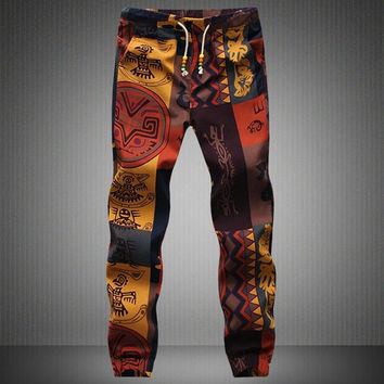 Fashion Mens Hip Hop Dance Sports Jogger Slacks Pants Trousers Fashion Male = 5710933569