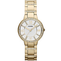 Fossil Virginia Gold-Tone Bracelet Watch - Goldtone