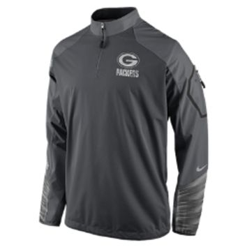 Nike Platinum Fly Rush 2.0 Half-Zip (NFL Packers) Men's Training Top