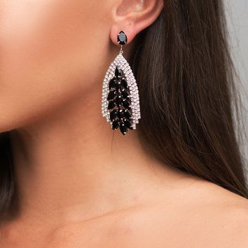 Nataly Earrings - Black
