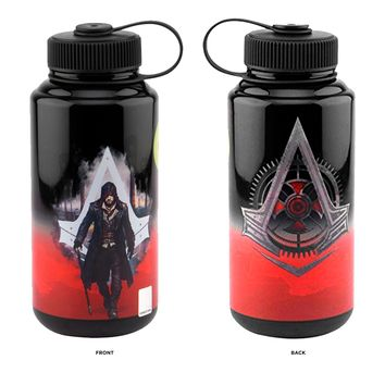 32oz OFFICIAL Assassin's Creed Limited Edition Fitness and Training Parkour Water Bottle (BPA-Free)