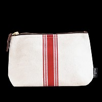 Travel Pouch - Red Stripe