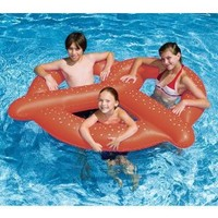 Swimline Giant Pretzel Swim Fun Inflatable Floating Seat