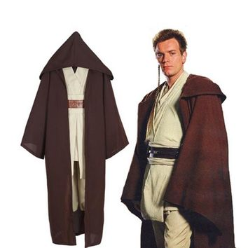 Star Wars Jedi Knight Anakin Skywalker Uniform Cosplay Costume Full Set Customized Size