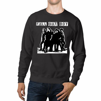 Fall Out Boy Black and White Unisex Sweaters - 54R Sweater