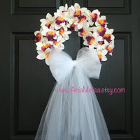 summer wreaths white pink wreaths for front door wreaths decor wedding wreaths gift ideas