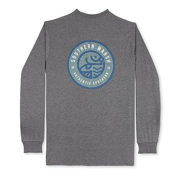 Long Sleeve Circle Catch Tee by Southern Marsh
