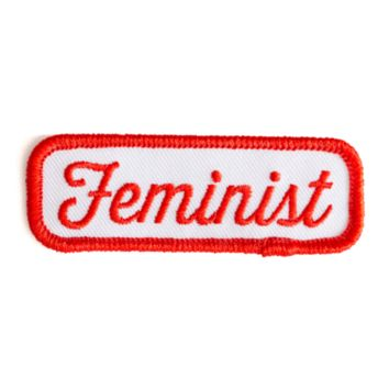 These Are Things - Iron-On Patches - Feminist Patch