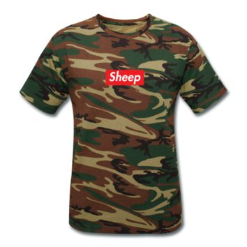camo sheep T-Shirt | idubbbz