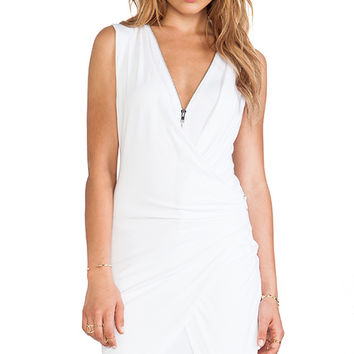 Bailey 44 Diptych Dress in White
