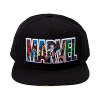 Marvel Collage Script Hat