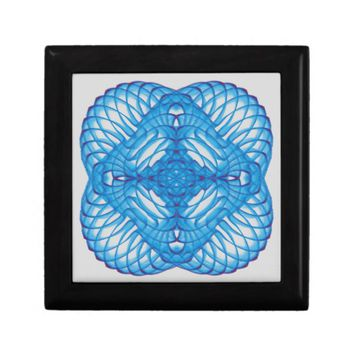 Symmetric pattern gift box