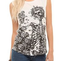Grateful Dead Skeleton Girls Top - 149574