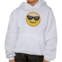 Smiling Face With Sunglasses Emoji Hoodie
