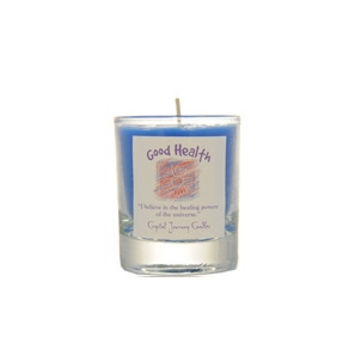 Good Health Soy Glass Votice Candle