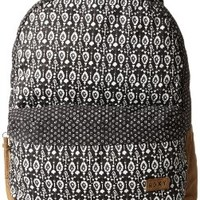 Roxy Juniors Gallery Backpack, Paisley Ditsy True Black, One Size:Amazon:Clothing