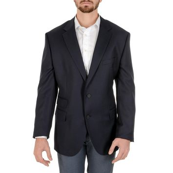 Hugo Boss Mens Jacket Long Sleeves Dark Blue JET