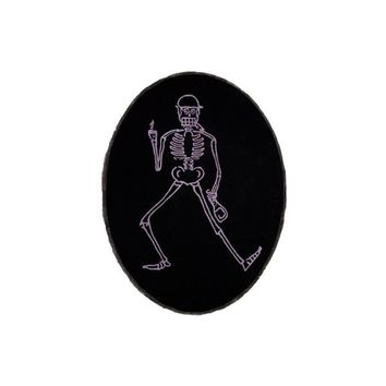 Dancing Skeleton Rug