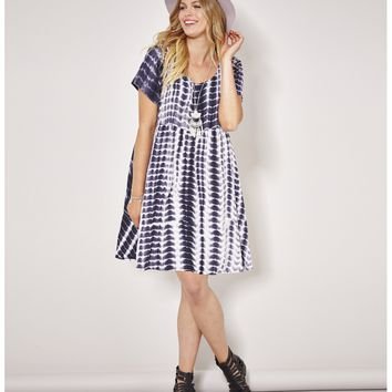 Alice And You Tie Dye Smock Dress