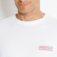 vineyard vines Rectangle Logo Graphic T-Shirt
