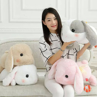 50cm Rabbit Dolls Plush Classical Lying Bunny Rabbit Toy Amuse Lolita Loppy rabbit Kawaii