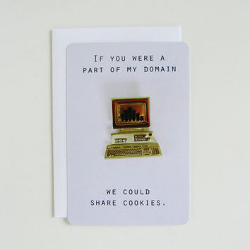 We Could Share Cookies  Blank Postcard by gnomesweeeetgnome