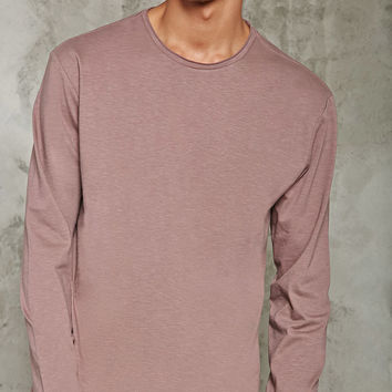 Double-Knit Slub Tee