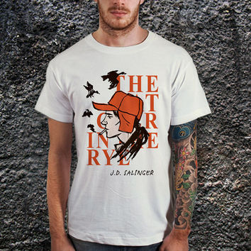 The Catcher In The Rye Men T-Shirt, Cotton Men T-Shirt ( Various Color Available )