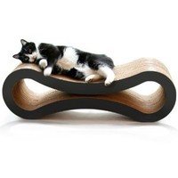 PetFusion Ultimate Cat Scratcher Lounge (Slate Gray)